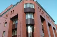Облицовка фасада композитными панелями. Светопрозрачные конструкции.