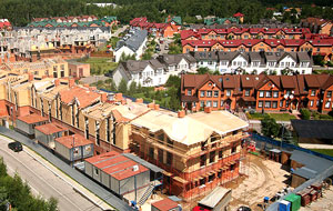 Малоэтажное строительство (частное домостроение) в Казани.