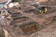 Строительство торгового здания под ключ (земляные работы, устройство монолитного фундамента).